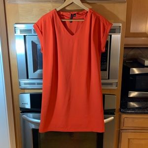 Blood Orange Shift Dress